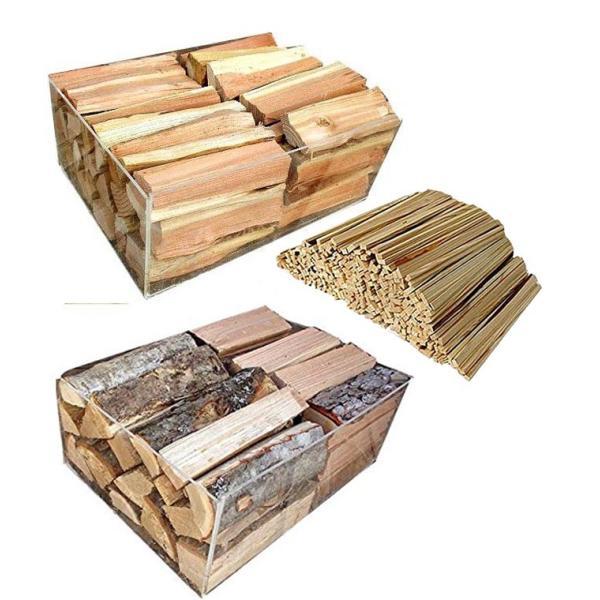 薪 3点セット 初級者用 No39 焚付け用薪+針葉樹の薪+広葉樹の薪 携帯焚火台用 産地 長野県