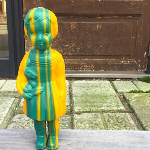 Clonette Doll Stripy 24cm クロ ネットドール ナタリーレテ 海 外のインテリア フランス 北欧  プラスチックドール キッチュ  カラフル