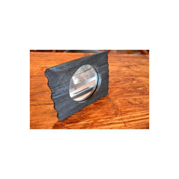 アジアン雑貨 バリ ♪古木のミラー♪ 卓上ミラー 鏡 テーブルミラー エスニック|yayapapus-y|04