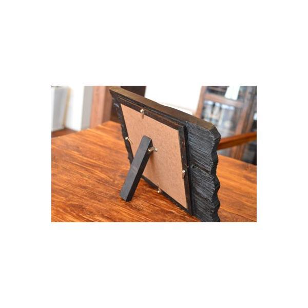 アジアン雑貨 バリ ♪古木のミラー♪ 卓上ミラー 鏡 テーブルミラー エスニック|yayapapus-y|06