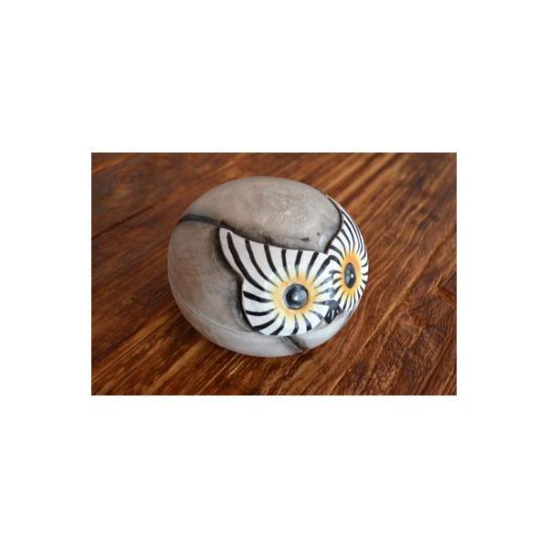 アジアン雑貨 バリ ♪フクロウの小物入れ♪ 小物入れ アクセサリーケース エスニック|yayapapus-y|03