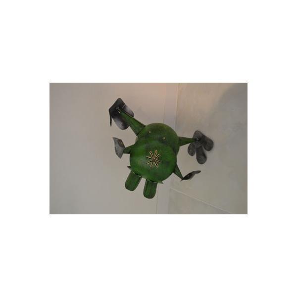 アジアン雑貨 バリ ♪アイアンのオドケカエル♪ 置物 オブジェ 小物入れ かえる アイアン エスニック|yayapapus-y|03