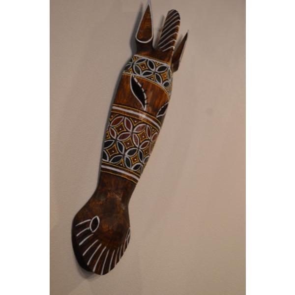 アジアン雑貨 バリ ♪ロンボクのクダマスク(フラワー)♪ 壁掛け レリーフ オブジェ 木製 エスニック|yayapapus-y
