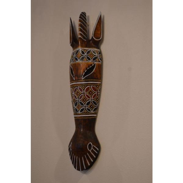 アジアン雑貨 バリ ♪ロンボクのクダマスク(フラワー)♪ 壁掛け レリーフ オブジェ 木製 エスニック|yayapapus-y|04