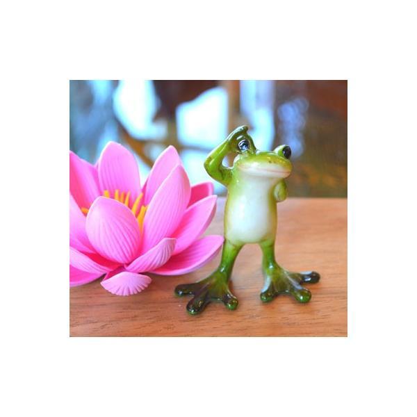 アジアン雑貨 バリ ♪OKカエル♪ 置物 オブジェ エスニック|yayapapus-y|06