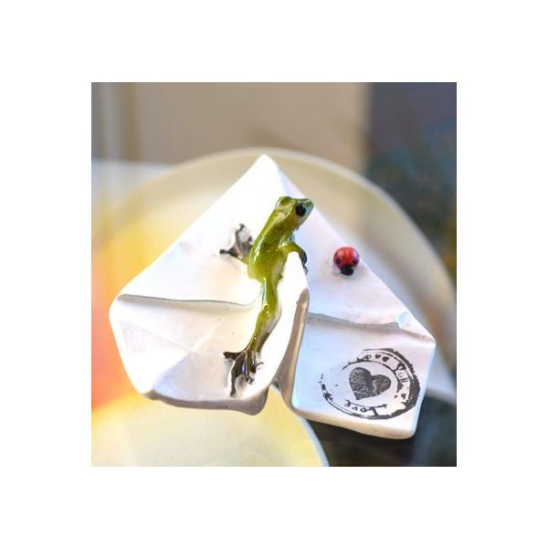 アジアン雑貨 バリ ♪ヒコーキカエル♪ 置物 オブジェ エスニック|yayapapus-y|05