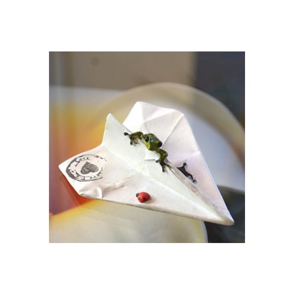 アジアン雑貨 バリ ♪ヒコーキカエル♪ 置物 オブジェ エスニック|yayapapus-y|06