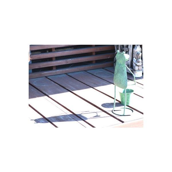 アジアン雑貨 バリ ♪ブリキガーデンカエル♪ 置物 オブジェ アイアン エスニック|yayapapus-y|05