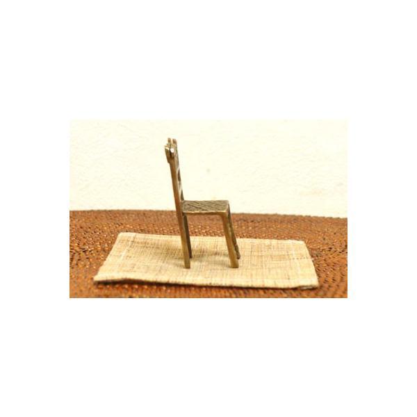 アジアン雑貨 バリ ♪真鍮 チェアーカードホルダー(角型)♪ 写真立て フォトスタンド カードクリップ エスニック|yayapapus-y|03