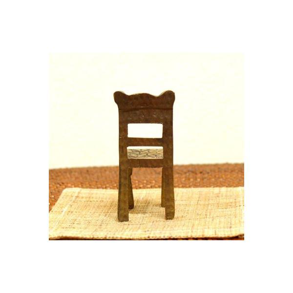 アジアン雑貨 バリ ♪真鍮 チェアーカードホルダー(角型)♪ 写真立て フォトスタンド カードクリップ エスニック|yayapapus-y|04