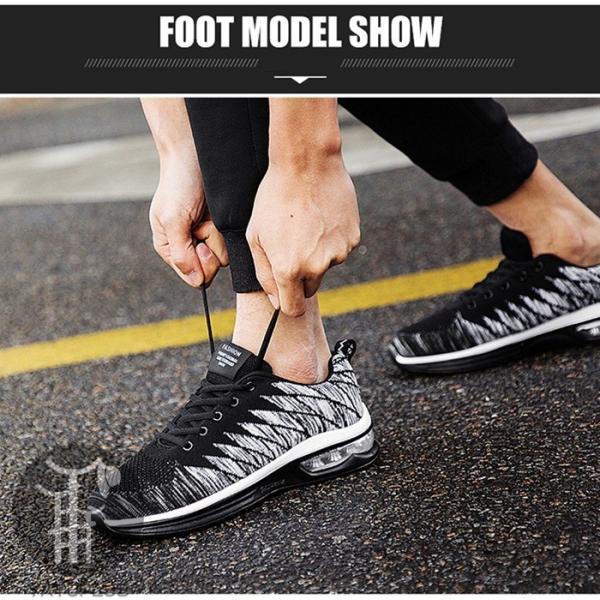 ランニングシューズ メンズ スニーカー レディース 運動靴 ランニング シューズ 紐   おしゃれ ファッション 靴 靴紐 ローカット カジュアル|yayushop|10