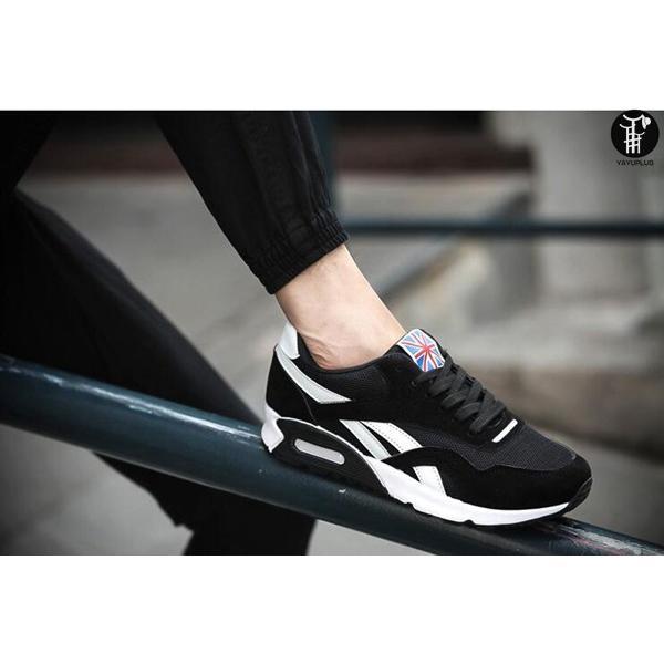 ランニングシューズ メンズ スニーカー レースアップ ローカット カジュアルシューズ 軽量 ジョギング ウォーキング 通気性|yayushop|05