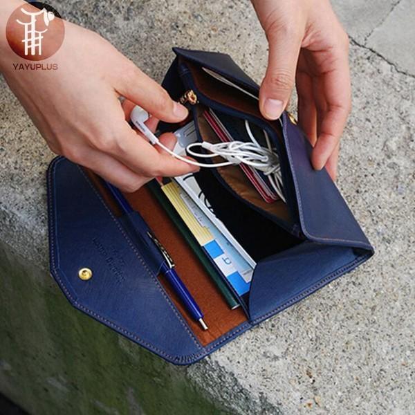 長財布 レディース 小銭入れ ハンドバッグ カードケース パスポート さいふ ペン入れ 大容量 収納 薄い PU レザー 女性用 おしゃれ ギフト プレゼント 代引不可