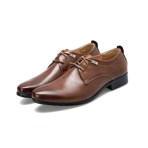 革靴 ビジネス メンズ メンズシューズ ビジネスシューズ 新生活 紳士靴 フォーマルシューズ 紐 靴 軽量 通勤 通学 結婚式 仕事用 レースアップ 父の日|yayushop|06