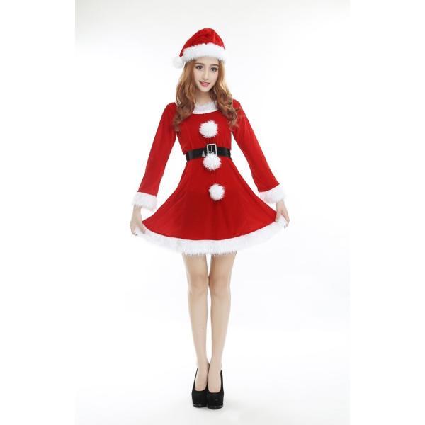 c43507845dda5 ... サンタ コスプレ 衣装 サンタクロース 衣装 サンタコスチューム サンタ コス サンタ 3点セット クリスマス X  ...