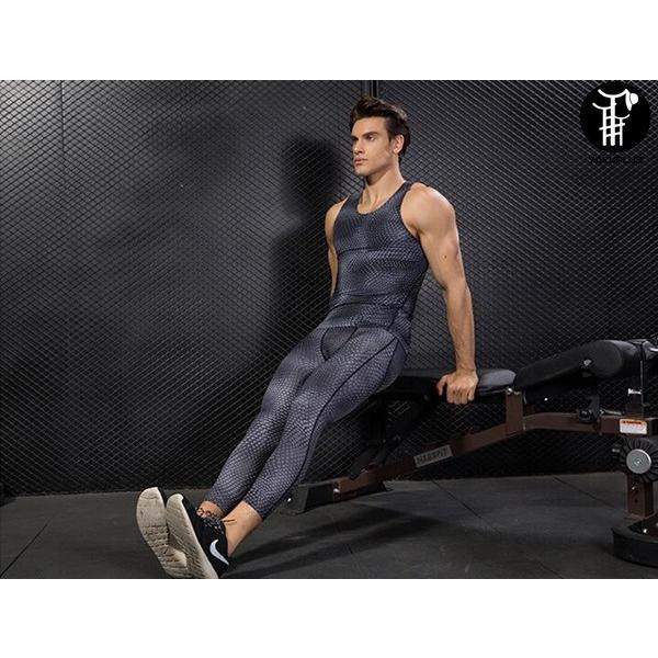 トレーニングパンツ フィットネス コンプレッション メンズ スパッツ スポーツウェア ロングパンツ 吸汗 速乾 代引不可 yayushop 03