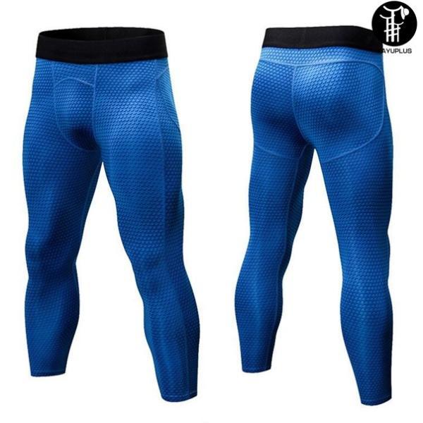 トレーニングパンツ フィットネス コンプレッション メンズ スパッツ スポーツウェア ロングパンツ 吸汗 速乾 代引不可 yayushop 08