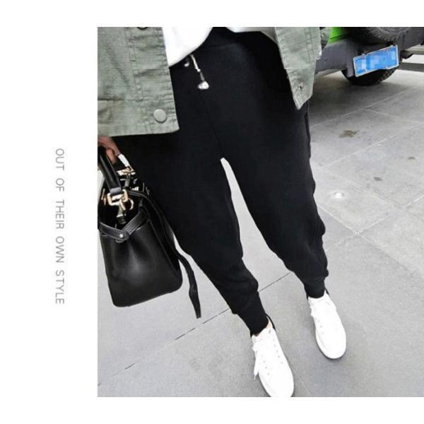 サルエルパンツ ジョガーパンツ サルエル レディース 運動着 テーパードパンツ パンツ  ボトムス  当日発送 代引不可|yayushop|10