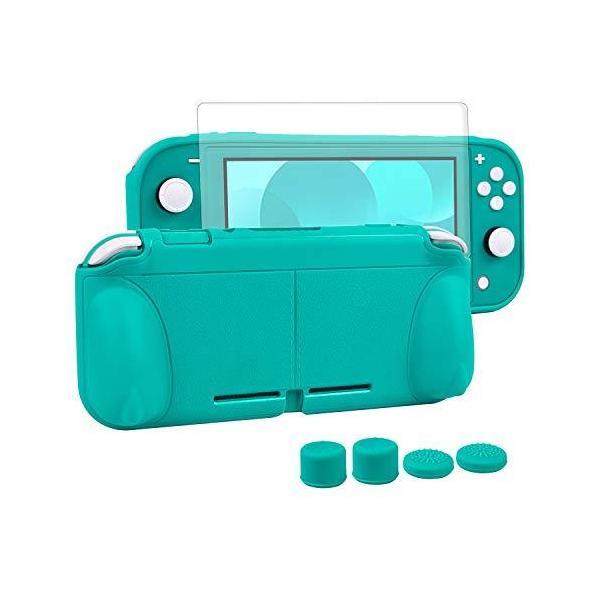 Nintendoswitchliteカバースイッチライト任天堂ケースNintendoTPU素材一体式全面保護耐衝撃特殊ハンドル薄