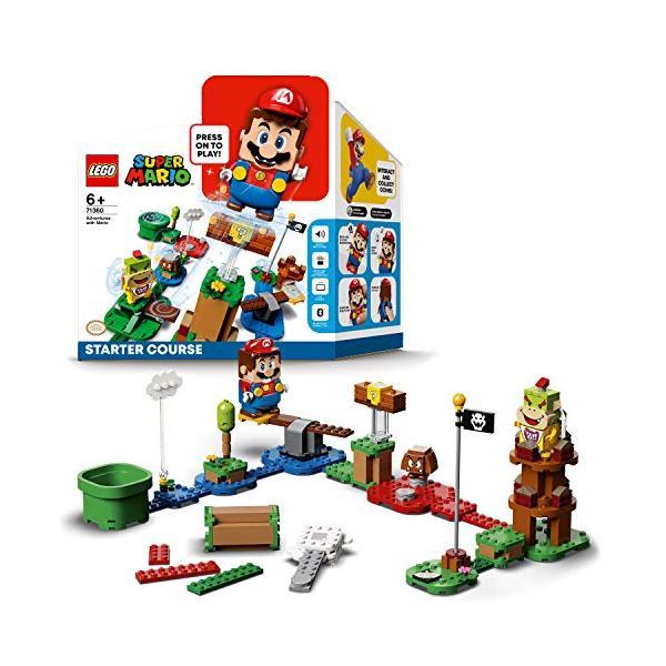 レゴ(LEGO)スーパーマリオレゴ(R)マリオとぼうけんのはじまり〜スターターセット71360