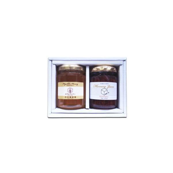 (送料込み)国産蜂蜜 & はちみつジャム ギフトセット ( 百花はちみつ 1 ジャム 1 )