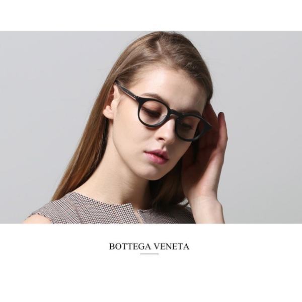 BOTTEGA VENETA   ボッテガヴェネタ   メガネフレーム  メンズ  レディース BV0023OA 001 [並行輸入品]