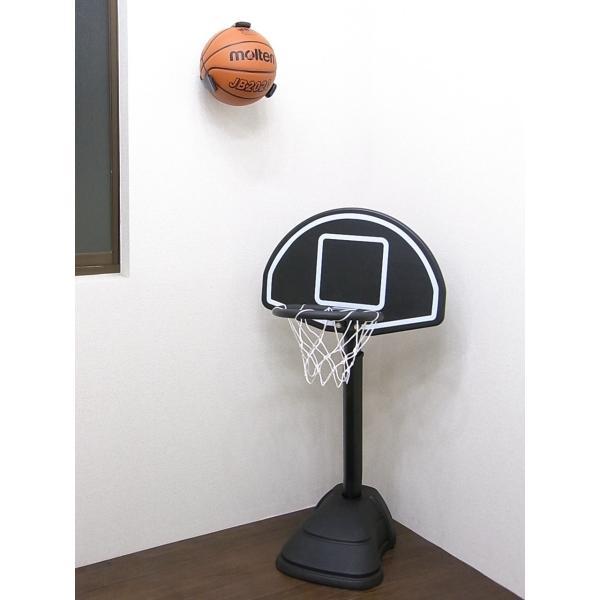 訳あり品 サインボール、記念ボール、お気に入りのボールを飾ろう! バスケットボール用ボールホルダー
