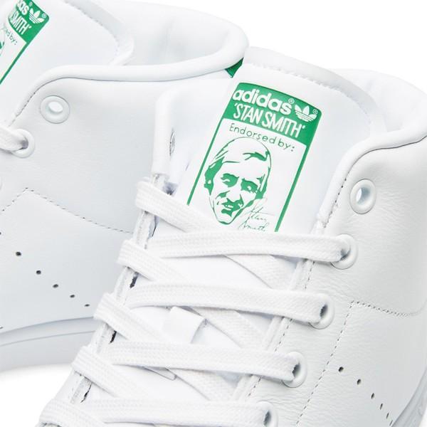 アディダス スタンスミス ミッド スニーカー ハイカット メンズ レディース バスケットシューズ 白 ホワイト オリジナルス adidas STAN SMITH MID BB0069 ads59|yellow|06
