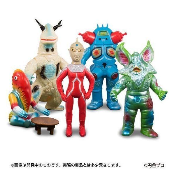 ブルマァク怪獣シリーズプレミアム『ウルトラセブン』5体セット