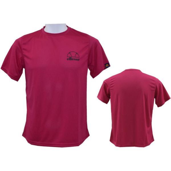 ellesse/エレッセメンズTシャツ/テニスウェア/テニスTシャツEM17106T/メール便も対応/|yf-ing|02