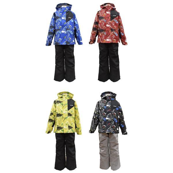 スキーウェア キッズ ジュニア nima/ニーマ/スノーボードウエア JR-7001/あすつく対応_北海道/男の子/ボーイズ/上下セットスキー用品 yf-ing 04