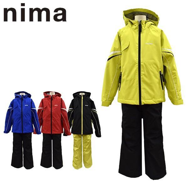 ニーマ nima スキーウェア キッズ ジュニア 雪遊び スノボ サイズ調整可能 JR-7004 あすつく対応_北海道スキー用品|yf-ing