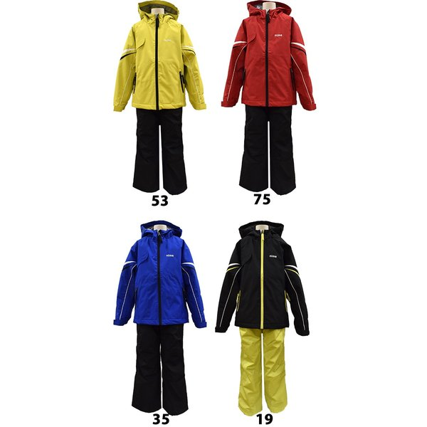 ニーマ nima スキーウェア キッズ ジュニア 雪遊び スノボ サイズ調整可能 JR-7004 あすつく対応_北海道スキー用品|yf-ing|07