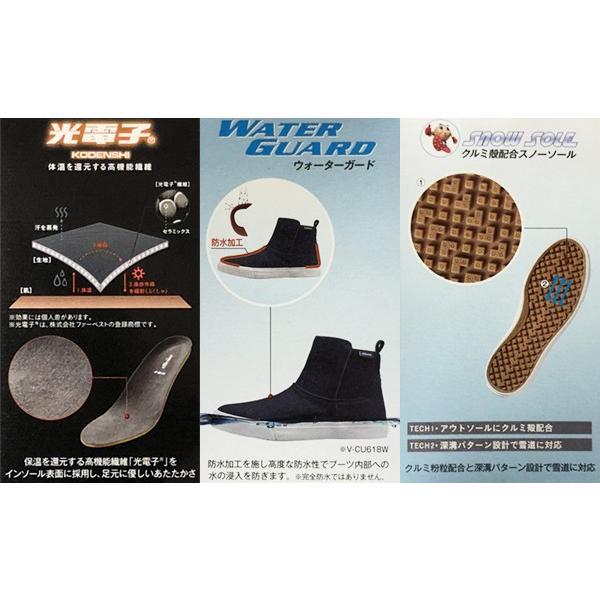 エレッセ ellesse レディース ショートブーツ Tyrrhenian Winter Short Boots V-CU618W あすつく対応_北海道|yf-ing|06
