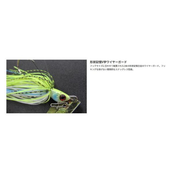 ジャッカル ブレイクブレード 1/2oz ホロラメクリアーピンク /バスルアー チャター ブレードジグ