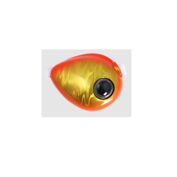 ジャッカル TGビンビン玉スライド 雷流ヘッド 45g F068 オレンジゴールド