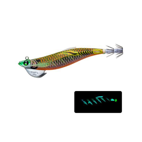 デュエル EZ-Q フィンプラスTRラトル 3.5号 30g A1745-DLBM ダブル夜光ブラウングリーン