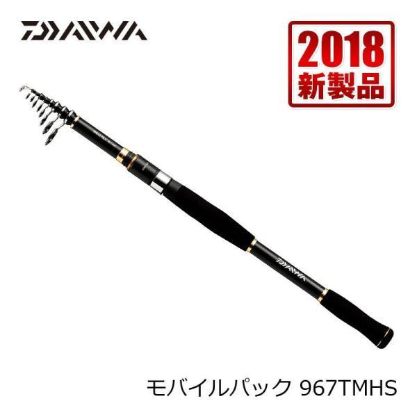 ダイワ モバイルパック 967TMHS / 振出 ルアーロッド