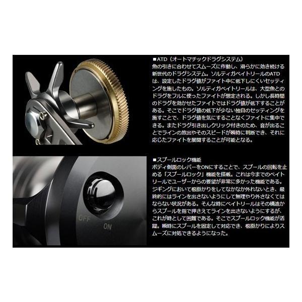 ダイワ(DAIWA) ソルティガ 15H-SJ (ジギング専用リール ベイトリール 右ハンドル)