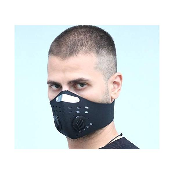 Acoretto 低酸素マスク トレーニング用 肺活量 強化 ダストフィルター 取り外し可能 洗える マジックテープ式 yggdrasilltec 02