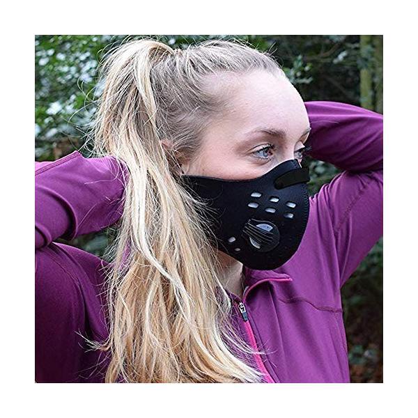Acoretto 低酸素マスク トレーニング用 肺活量 強化 ダストフィルター 取り外し可能 洗える マジックテープ式 yggdrasilltec 03