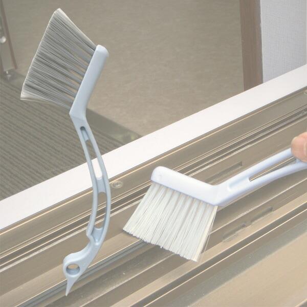 清掃ブラシ サッシブラシ | ブラシ 隙間掃除 パッキン 窓 サッシ