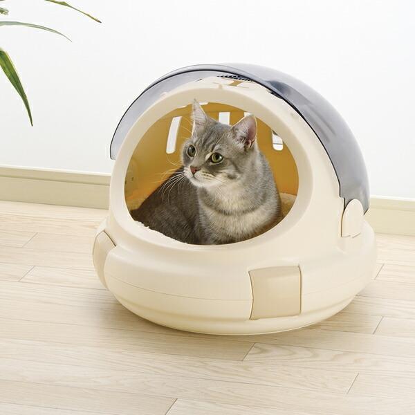 猫用キャリーバッグ リッチェル コロル おでかけネコベッド ベージュ M