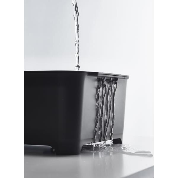山崎実業 タワー 水切りセット (洗い桶&水切りカゴ) ブラック 3590|yh-beans|05