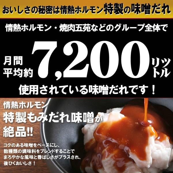 ホルモン 焼肉 牛ホルモン 味噌だれ漬け 200g 情熱ホルモン yhjonetsu 04