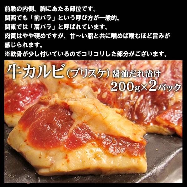 焼肉セット バーベキュー  肉 カルビ三昧 カルビ3種盛り 3-4人前 計1.2kg 送料無料 BBQ|yhjonetsu|03