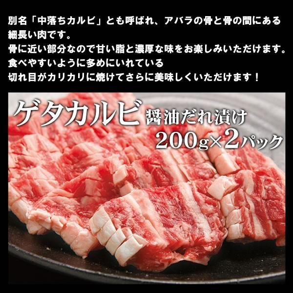 焼肉セット バーベキュー  肉 カルビ三昧 カルビ3種盛り 3-4人前 計1.2kg 送料無料 BBQ|yhjonetsu|04