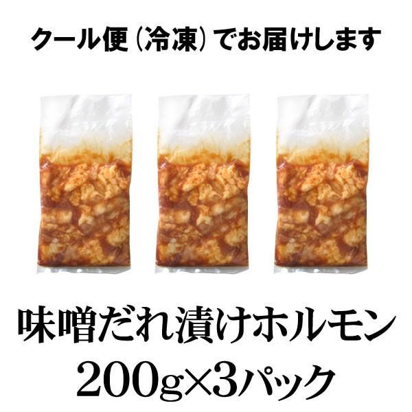 ホルモン 焼肉 牛ホルモン味噌だれ漬けお試しセット 600g 送料無料 バーベキュー 焼肉セット BBQ|yhjonetsu|02