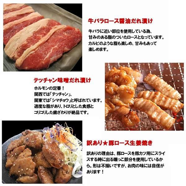 バーベキューセット 焼肉セット 特撰バラエティBBQセット 計1.92kg 約4-5人前 送料無料 BBQ 焼肉|yhjonetsu|04