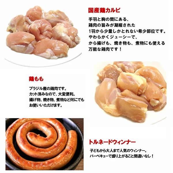 バーベキューセット 焼肉セット 特撰バラエティBBQセット 計1.92kg 約4-5人前 送料無料 BBQ 焼肉|yhjonetsu|05